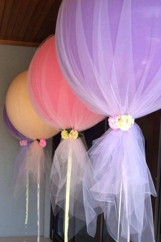 Decoracin con globos y adornos para fiestas infantiles y cumpleaos