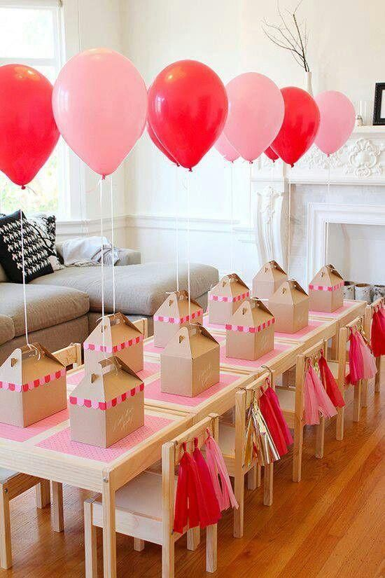 Decoración con globos y adornos para fiestas infantiles y cumpleaños ...