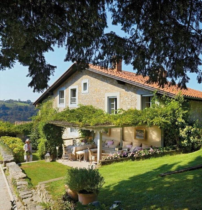 183 casas campestres modernas dise os interiores y for El mueble casas rusticas
