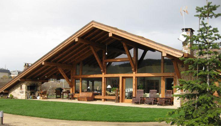 183 casas campestres modernas dise os interiores y for Fachadas de casas campestres