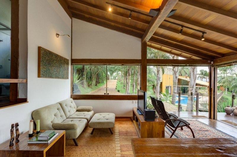 183 casas campestres modernas dise os interiores y for Decoracion de casas por dentro