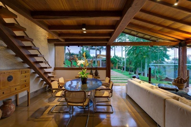 183 casas campestres modernas dise os interiores y for Muebles para casas campestres