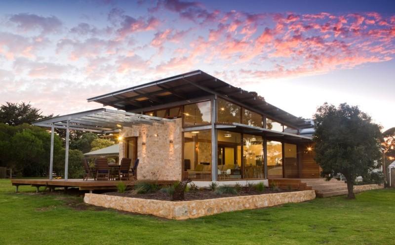 183 casas campestres modernas dise os interiores y for Casas campestres en madera