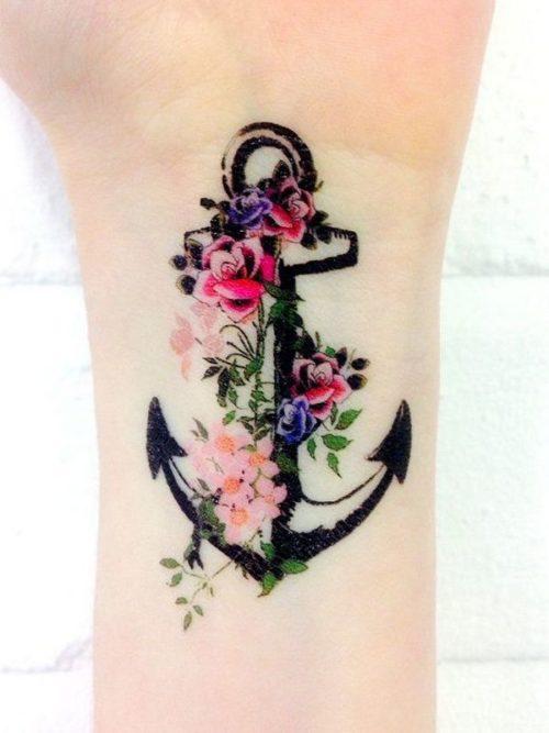 223 Tatuajes Para Mujeres Hombres Y Parejas Ideas Y Disenos - Tatuajes-de-colores-para-mujeres