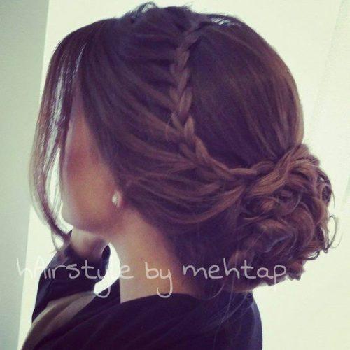 bonitos peinados para noche sencillos - Peinados Sencillos Y Faciles