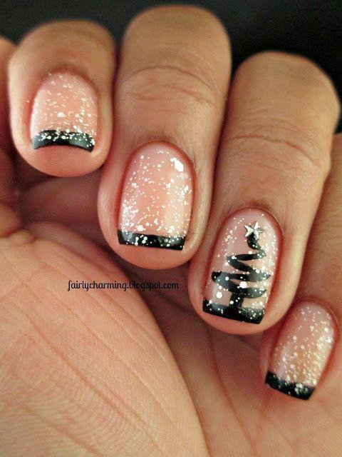 90 Imágenes de uñas navideñas decoradas para Navidad | Información ...