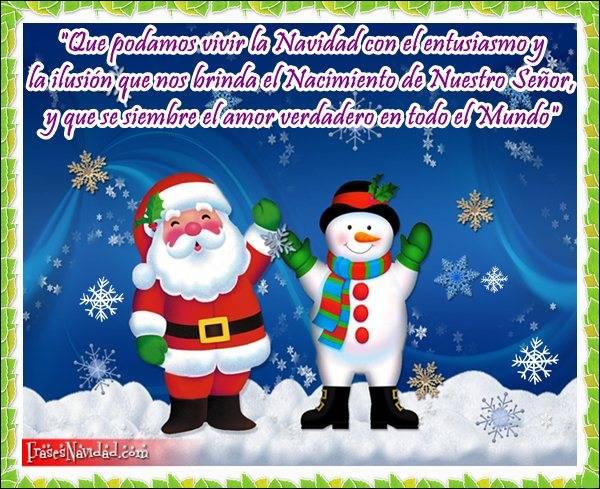 Imágenes con frases bonitas de Navidad para niños   Información imágenes