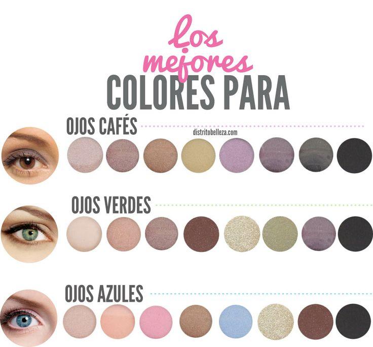 290 im genes de maquillaje de d a noche fiesta natural for Sombras de ojos para ojos marrones