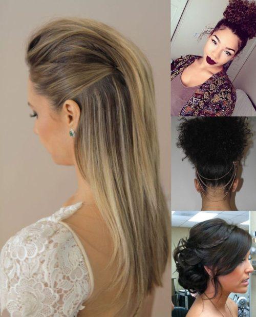 broches o incluso cintas para lograr que un aspecto ms atractivo no te pierdas estas imgenes con bonitos e increibles peinados para tu prxima boda - Peinados Bonitos