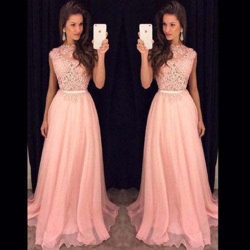 Vestidos Largos Sencillos Pegados Vestidos Elegantes 2019