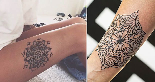 Tatuajes De Mandalas Para Mujer Y Hombre Y Que Significan