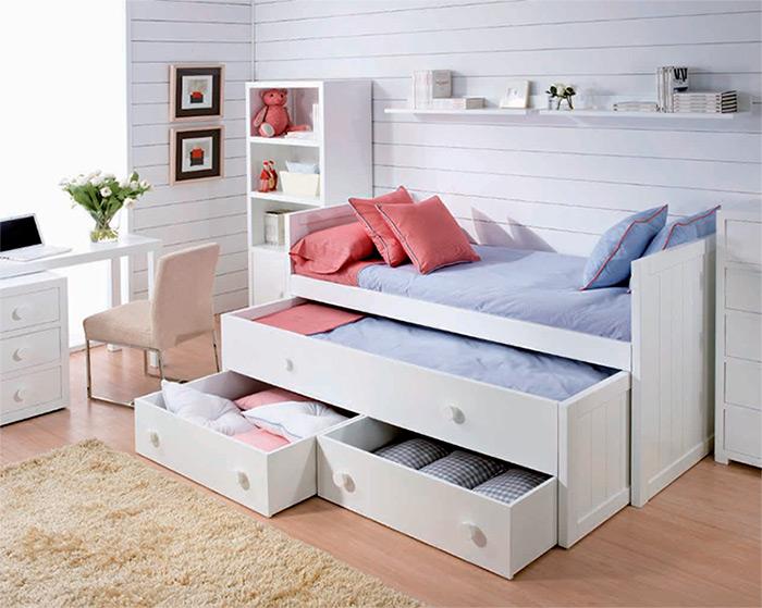 Decoraci Ef Bf Bdn De Dormitorios Blancos Juvenil