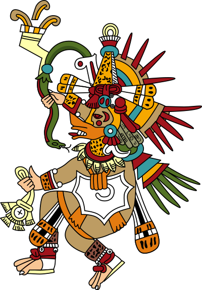Información E Imágenes De Los Dioses Aztecas De La Cultura La