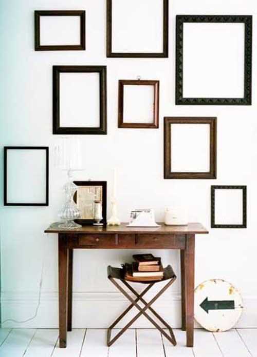Decoraci n de paredes 45 im genes con ideas para decorar - Ideas para decorar paredes con fotos ...