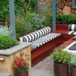 Decoración de exteriores: Jardines, Patios, Terrazas, Balcones [92 imágenes]