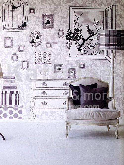 Decoraci n de paredes 45 im genes con ideas para decorar - La maison papel pintado ...