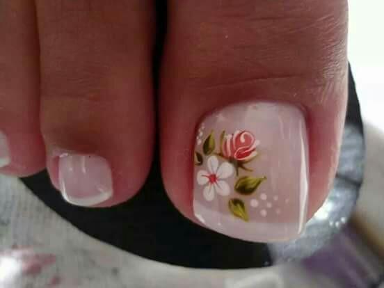 Unas Decoradas Con Flores Hermosos Disenos Y Modelos 72 Imagenes