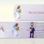 121 Invitaciones de boda en imágenes con ideas originales