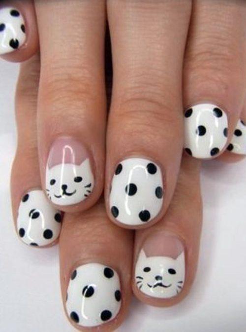 Diseños de uñas decoradas con animales y animal print | Información ...