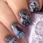 Diseños de uñas decoradas con animales y animal print