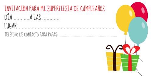 91 Invitaciones De Cumpleaños Para Niños Y Niñas Para