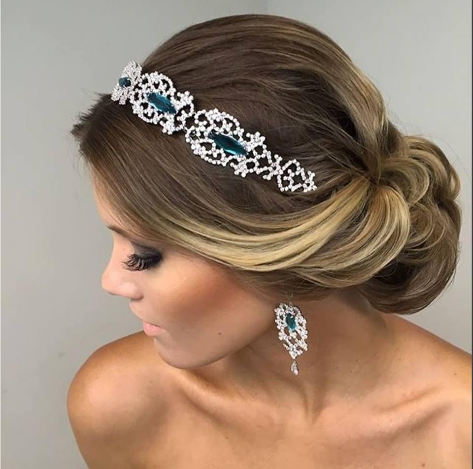 Fabuloso peinados de novia Galería de cortes de pelo Ideas - 99 Imágenes de peinados de novia tendencias para tu boda ...