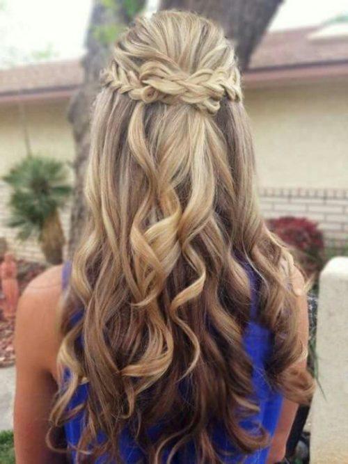 otro peinado fcil de hacer pero delicado - Peinados Sencillos