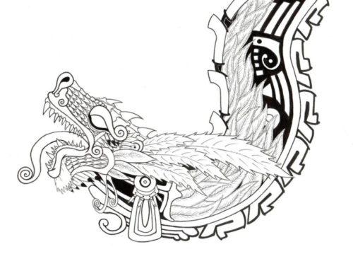 Información con imágenes sobre la simbología Azteca, dioses, sellos ...