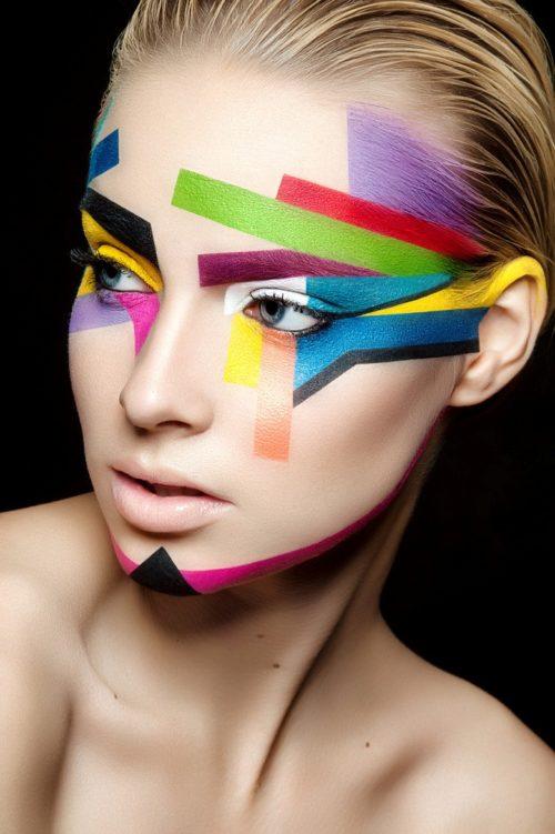 190 Imágenes de maquillaje artístico en niños, mujeres y hombres    Información imágenes