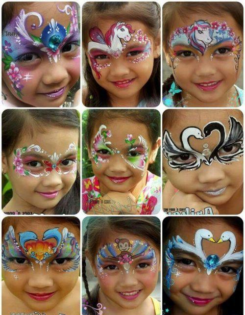 Maquillaje artistico infantil paso a paso fotos 57