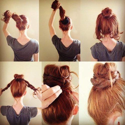 Completamente imperfecto peinados para el instituto Galería de cortes de pelo tutoriales - Peinados fáciles y rápidos para la escuela, el trabajo y ...