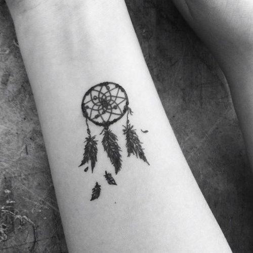 Tatuajes De Atrapasuenos Para Mujeres Disenos Y Significado - Dibujos-de-tatuajes-pequeos