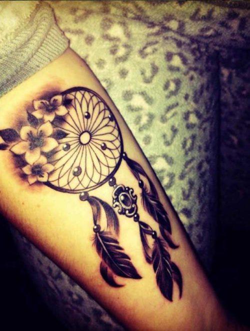 Tatuajes De Atrapasuenos Para Mujeres Disenos Y Significado