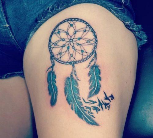 Tatuajes De Atrapasueños Para Mujeres Diseños Y Significado Información Imágenes