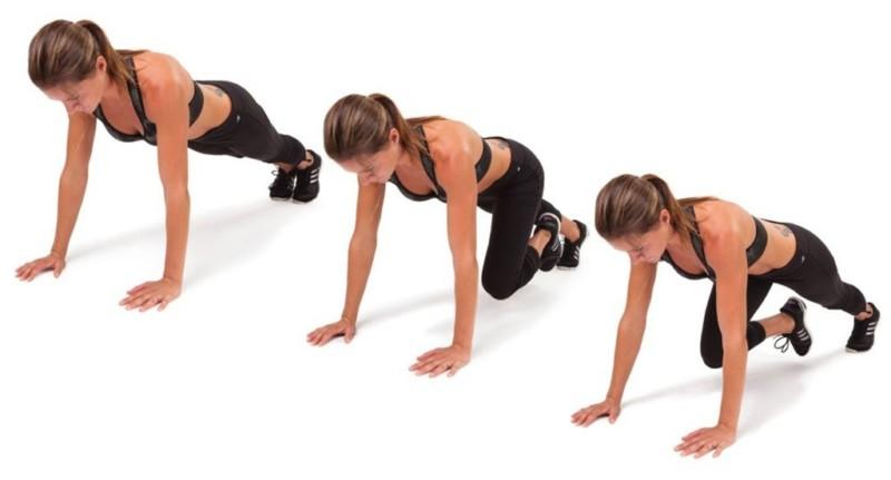 ejercicios para hacer abdominales y gluteos