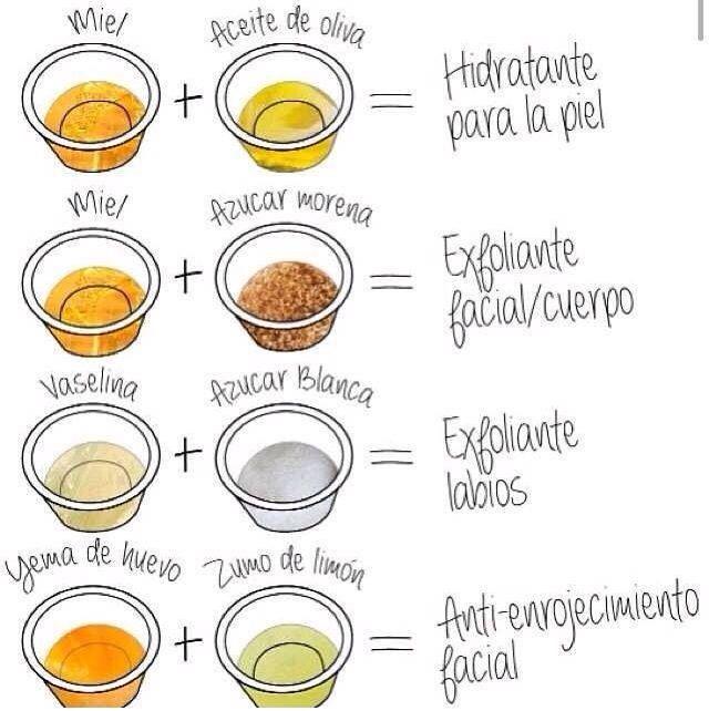 como hacer cremas caseras para la piel