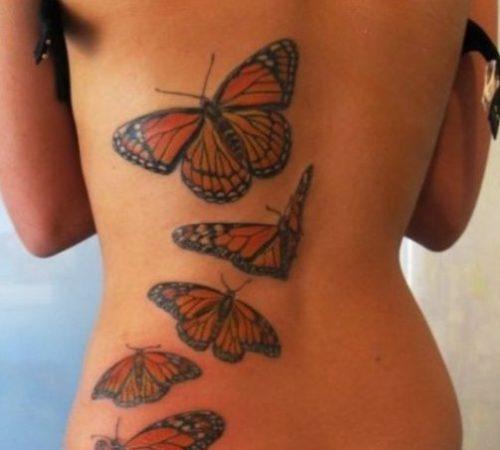 Tatuajes De Mariposas En 3d Good Tatuajes De Mariposas En El Hombro