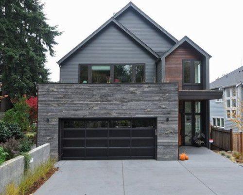 100 fachadas de casas con piedra modernas y minimalistas for Fachadas de casas modernas con piedra