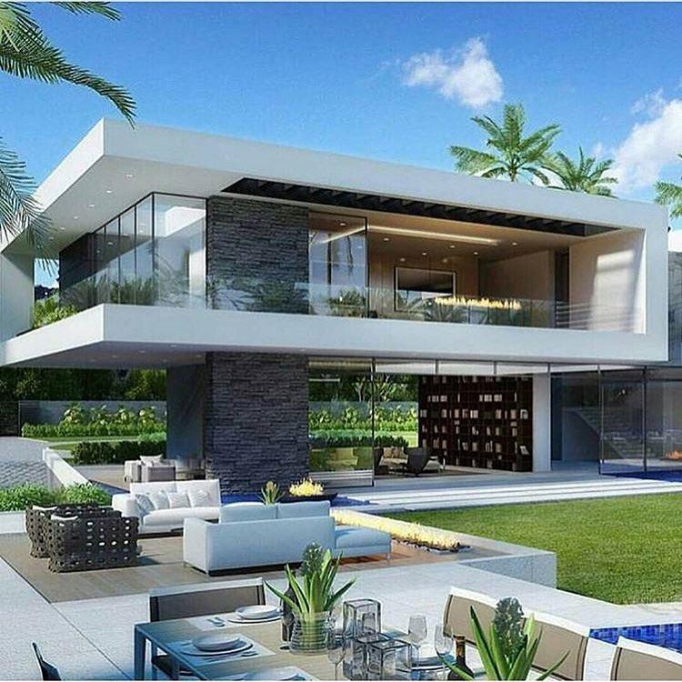 100 fachadas de casas con piedra modernas y minimalistas - Piedra para fachadas de casas ...