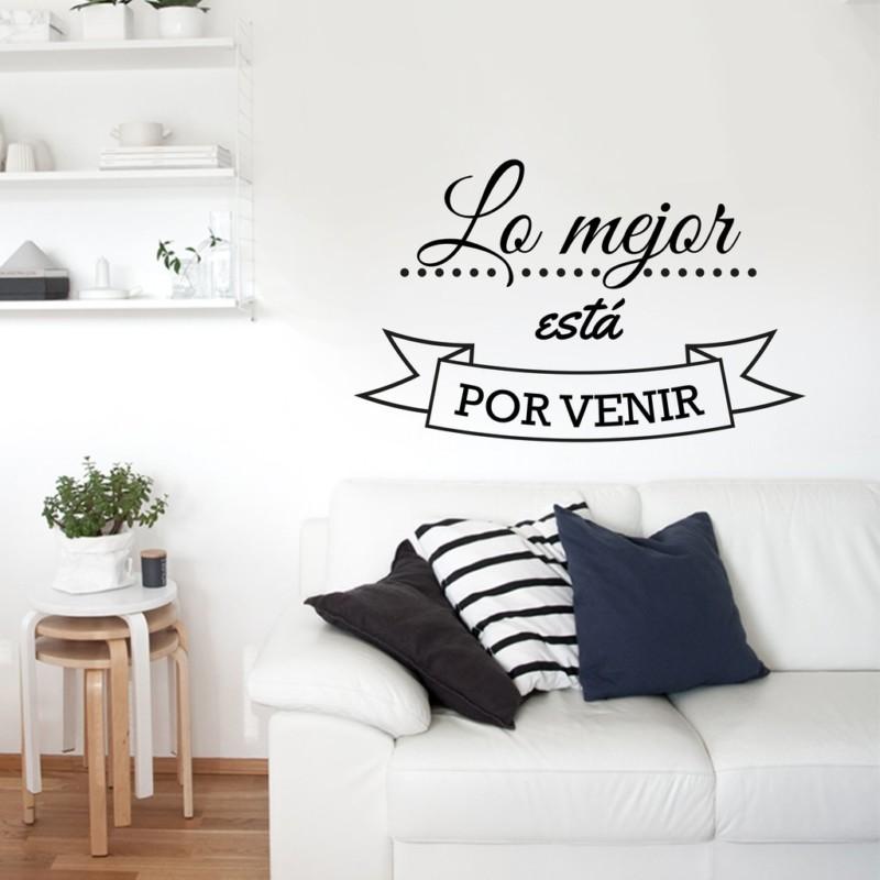 165 vinilos decorativos con frases para pared de for Vinilos para comedor