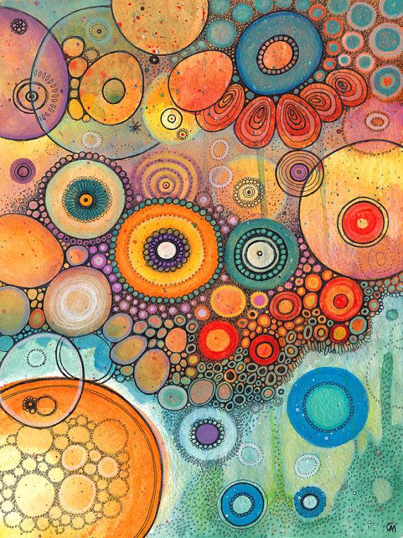 179 Imágenes Abstractas Pinturas Dibujos Y Fondos Información