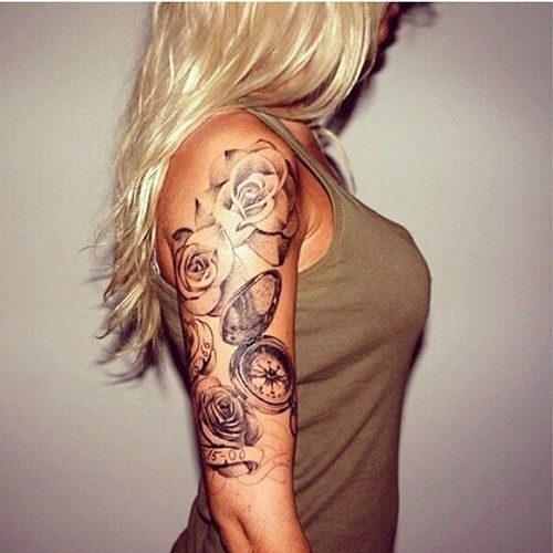 242 Tatuajes En Brazo Para Mujer Y Hombre Imágenes Diseños Y