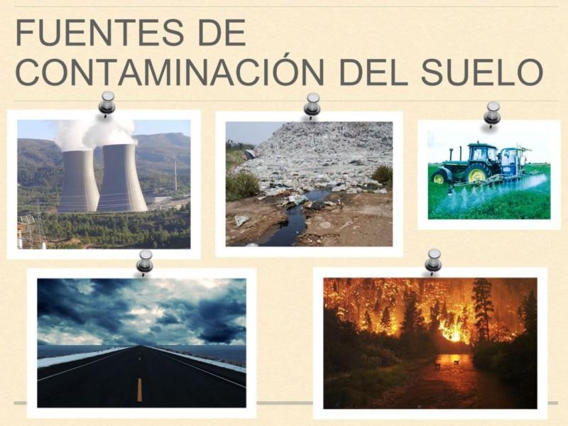 La contaminaci n del suelo informaci n im genes for Que elementos conforman el suelo