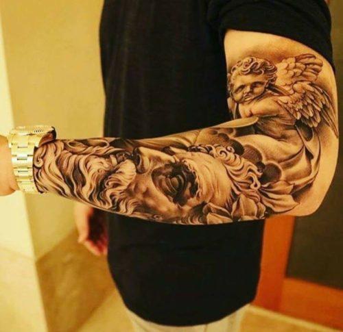 242 Tatuajes en Brazo para Mujer y Hombre imgenes diseos y