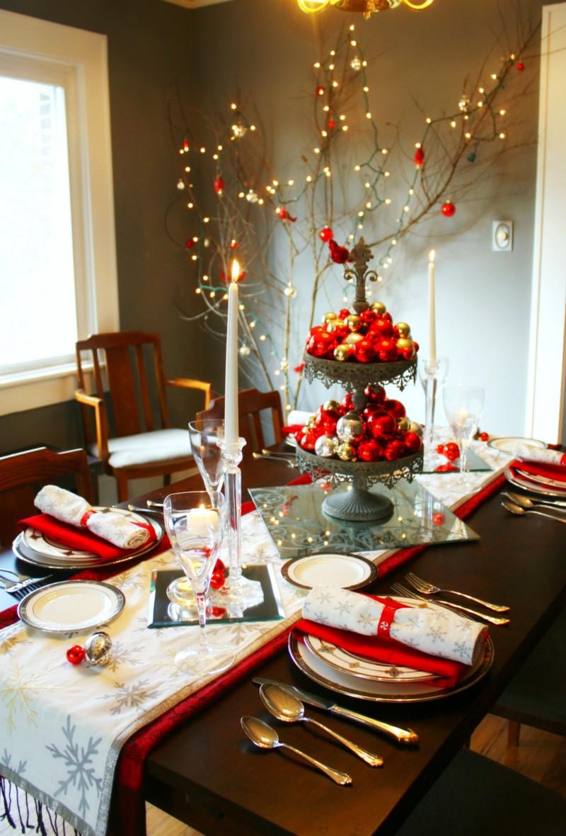 Arreglos navideños para comedor (25) | Información imágenes