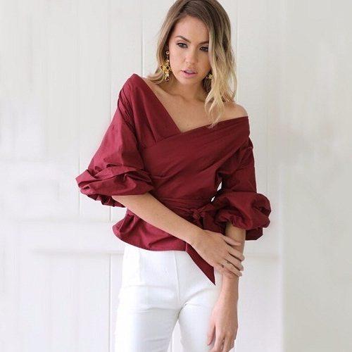 16dff89b1 182 Blusas de Moda 2017 / 2018 | Información imágenes