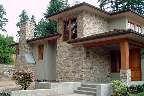 Casas r sticas im genes decoraci n y fachadas for Entradas de casas rusticas
