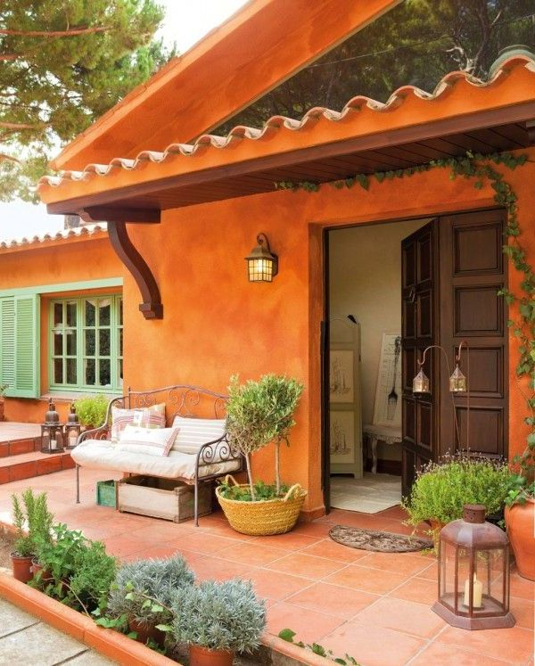 Casas r sticas im genes decoraci n y fachadas for Fachadas de casas mexicanas rusticas