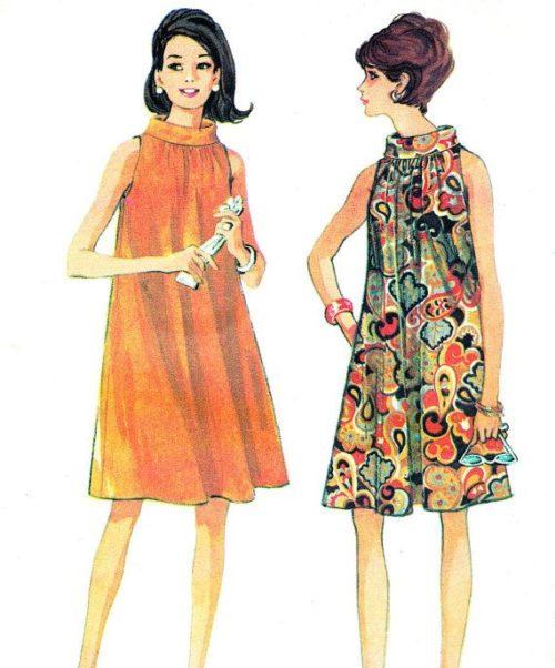 7ff7844cf Bocetos de la moda de los ´60