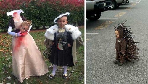 Disfraces y Maquillaje de Halloween para Nios Mujeres y Parejas